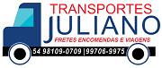Transportes Juliano Fretes Encomendas e Viagens - Whatsapp